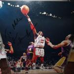 Autographed Houston Rockets player #34 autograph