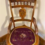 Eastlake Chair with Burl