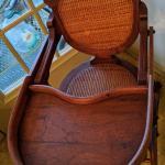 Victorian Convertible High Chair/Carriage Chair