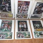 Lot of 3 Boston Celtics, 2 Boston Red Sox & 1 NASCAR Photo/Postcard & Cancelled