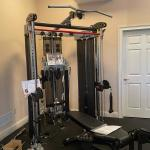 Incredible like new Inspire FT2 full gym system