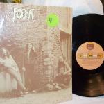 """ Fog Hat 1970's"". LP playing record."