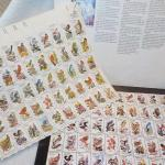 """ 50 State Birds Stamps by USPS."""
