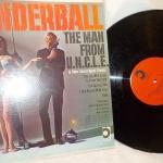 """ Original THUNDERBALL LP album"". The man from UNCLE""."