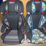Booster seats with high back