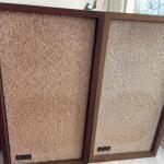 G1035 Pair of Vintage KLH Speakers Model Six
