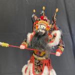 Kabuki Samurai Warrior Marionette String Puppet YD#020-1220-00114