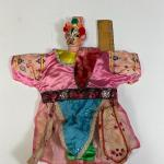 Vintage Asian Kabuki Samurai Glove Hand Puppet YD#020-1220-00133
