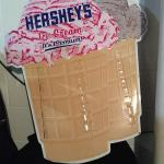"Hershey's Metal Store Display Advertising Sign 29"" x 34""h"