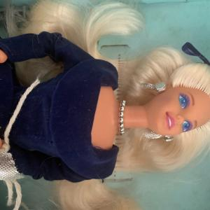 Photo of 1st edition NRFB Winter Velvet Barbie