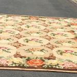 "Beautiful Vintage Needlepoint Carpet 120"" x 170"""