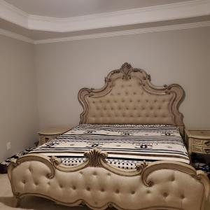 Photo of Elsmore king bed frame