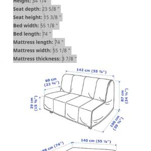 Photo of Small sofa bed