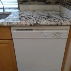 Photo of Whirlpool Dishwasher.
