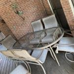 Set of outdoor furniture
