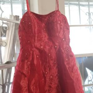Photo of Formal red dress