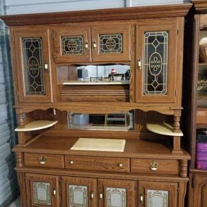 Photo of Lighted China Cabinet