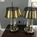 Antique Brass lamps