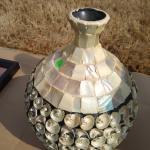 Shelled vase