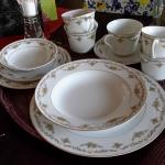 Crown China Cheltenham made in Japan