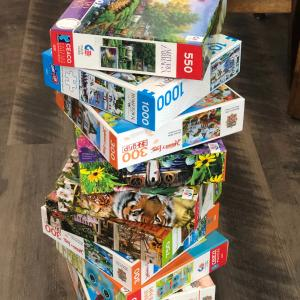 Photo of Puzzles, puzzles, puzzles