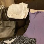 Purse & Lg Women's Shirts