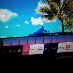 Photo of Tv and surround sound.