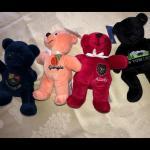 Traveling Beanie Bears