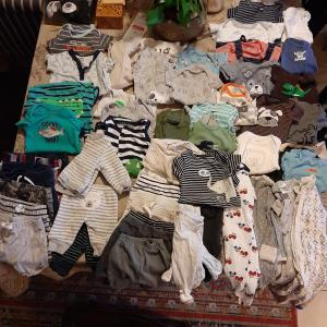 Photo of Baby boy clothes NB to 3-6 months Like New!