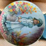 Mary Mary perfect ltd edition franklin mint plate