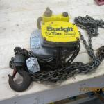 Budgit 1/2 Ton manual hoist by LiftTech