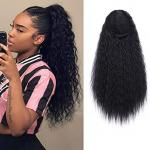 Ponytails (Straight, Curly and Natural kinky drawstring)