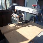 "Radial Arm Saw 10"" with Mobile Base"