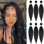 Best 3 packs pre stretched Hair Braiding hair for sale