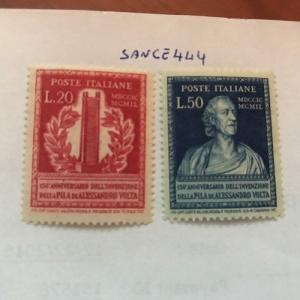 Photo of Italy Alessandro Volta mnh 1949 stamps