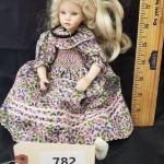 "LOT# 782- 12"" Pauline Bjonness Jacobsen Doll"