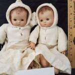 "LOT# 754- 13"" Effanbee Pastyette Doll Compo Head And Hands Cloth Body Og"
