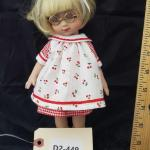 "LOT# 449- 10"" Toner Mary Engelbriet Doll"