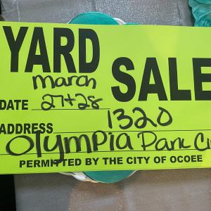 Photo of Yard Sale