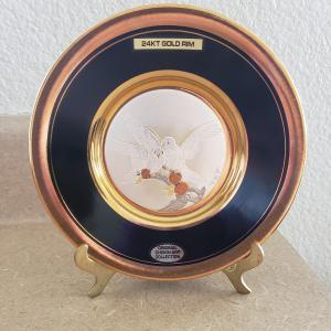 Photo of Vintage 1980's Japanese Dynasty Gallery Chokin Collection Collectible Plate