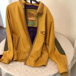 VINTAGE Aggio 1975 Butter Leather Men's Jacket