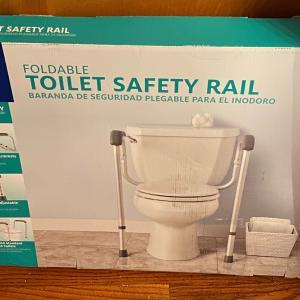 Photo of Toilet safety rail