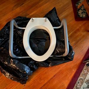 Photo of Raised toilet seat