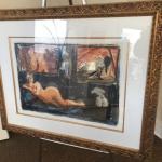 A. Kosousky   Framed Art 44x34 Nudes