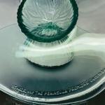 Rare Sculptural PHILIPPE  STARKE bowl to commemorate Hong Kong Peninsla Hotel