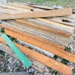 Lot of 2x4, 2x6, and Misc Wood, Lot #42