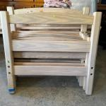 Lot 226 - Bunkbed with Mattress Supports & Sheets