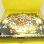 Vintage Carpet Bag Purse / original box