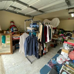 Photo of Garage sale items still available