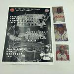 Autographed 8x10 (3) Negro league Baseball Photo